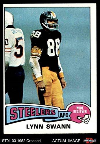 1975 Topps # 282 Lynn Swann Pittsburgh Steelers (Football Card) Dean's Cards 3 - VG Steelers (Lynn Swann Pittsburgh Steelers)