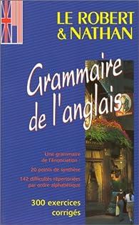 Le Robert&Nathan grammaire de l'anglais par  Nathan