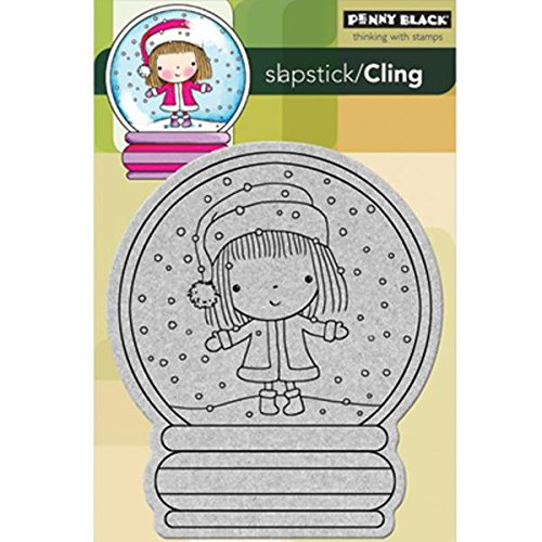 Penny Black 40-154 Christmas Stage Cling Rubber Stamp