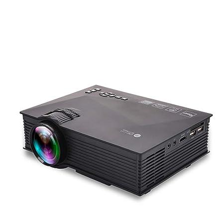 Proyector portátil 1080P Full HD Pantalla de 138 Pulgadas Conexión ...