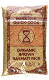 Trader Joe's Organic Brown Basmati Rice 32 oz