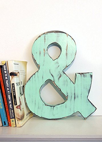 Rustic Ampersand - 10 x 12-inches - Choose Your Color