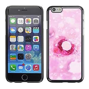 LASTONE PHONE CASE / Carcasa Funda Prima Delgada SLIM Casa Carcasa Funda Case Bandera Cover Armor Shell para Apple Iphone 6 Plus 5.5 / Love Pink Heart Diamond