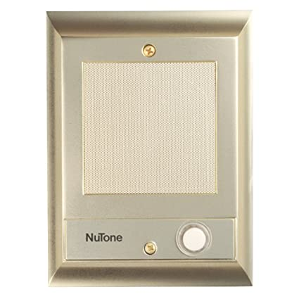 Bon Nutone IS69PB Door Speaker With Lighted Pushbutton (Discontinued By  Manufacturer)