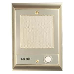 Amazon Com Nutone Is69pb Door Speaker With Lighted
