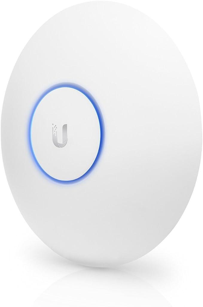 Ubiquiti Networks UAP-AC-LR - Punto de Acceso (AES, TKIP, WEP, WPA, WPA-PSK, WPA2, 5-95%, -10-70 °C, Color Blanco, CE, FCC, IC)