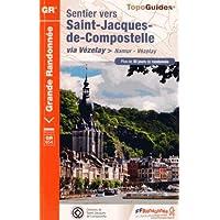 Sentier vers Saint-Jacques-de-Compostelle via Vézelay (Namur-Vézelay)
