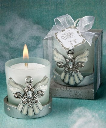 Wing Candle Angel (Regal Favor Collection Angel Themed Candle Holders, 16)