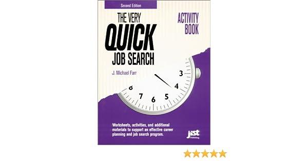 Very Quick Job Search Activity Book J Michael Farr 9781563702754