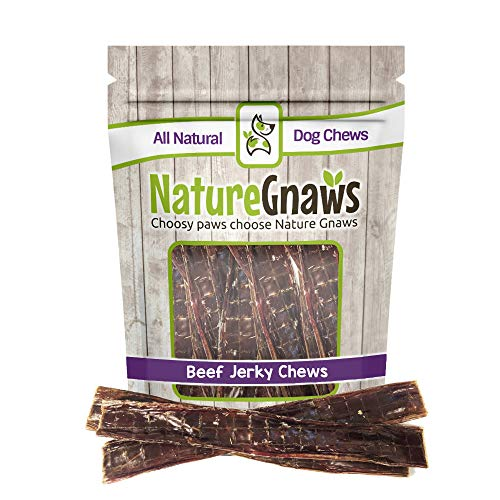(Nature Gnaws Beef Jerky Chews 9-10