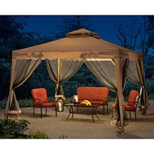 Sunjoy 10 x 10 ft. Steel Gazebo by SunNest Service LLC