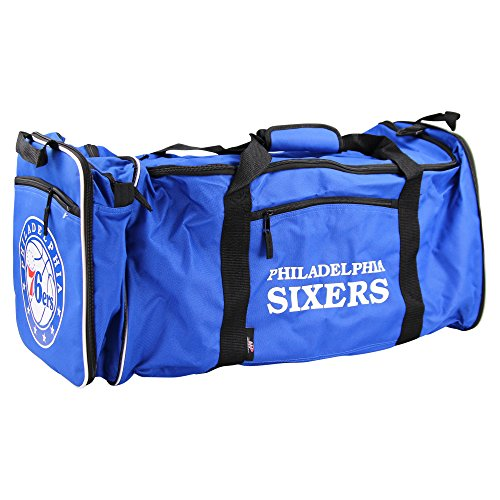 - NBA Team Logo Extended Shoulder Duffle Bag (Philadelphia 76ers)
