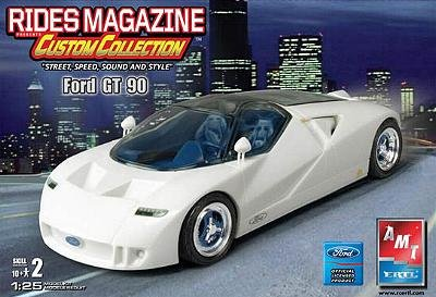 Amt Rides Magazine Ford Gt  Model Kit