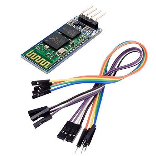 kuman How to Arduino Wireless Transceiver Module Slave 4Pin Serial + DuPont Cable (Usb Virtual Serial Port)