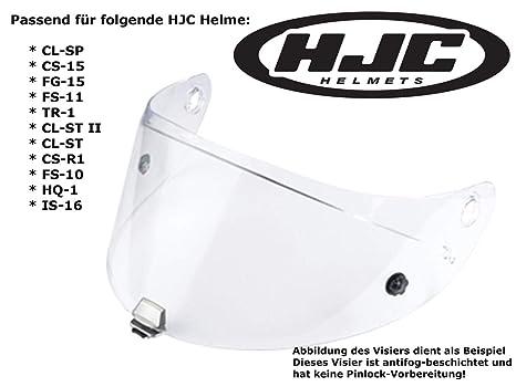 03534b2d Amazon.com: HJC Helmets Clear Shield Anti-fog Visor Hj-09 / Ac-12 ...