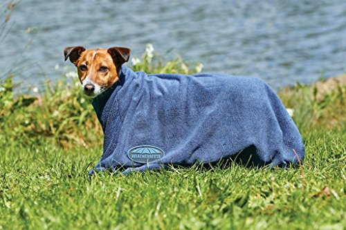 Weatherbeeta Dry-Dog Bag L Navy by Weatherbeeta