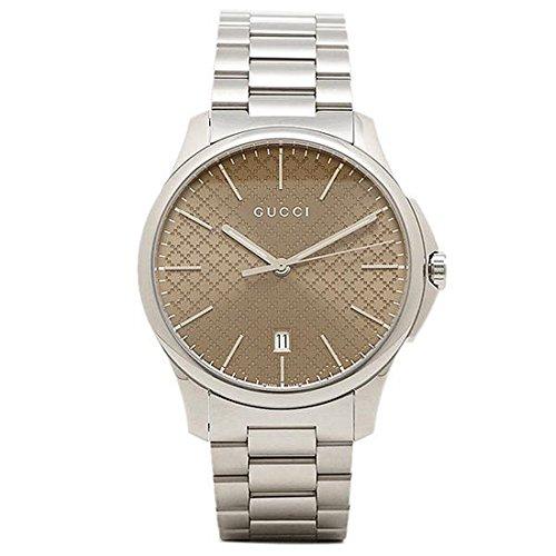5854368ced0b (グッチ) GUCCI グッチ 時計 GUCCI YA126317 G-タイムレス メンズ腕時計 ウォッチ ブラウン/