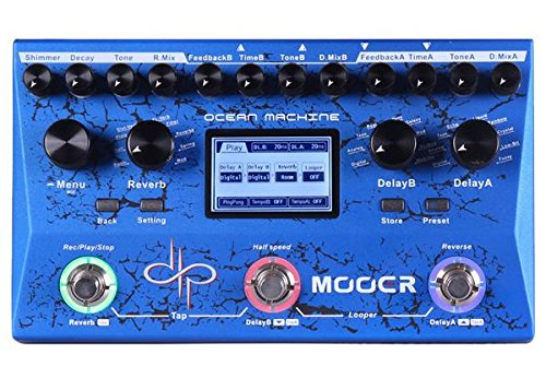Mooer Audio Ocean Machine Devin Townsend Signature Delay/Reverb Effects Pedal