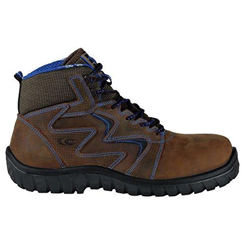 Cofra 36220–000.w44Sirocco S3SRC–zapatos de seguridad (talla 44), color marrón