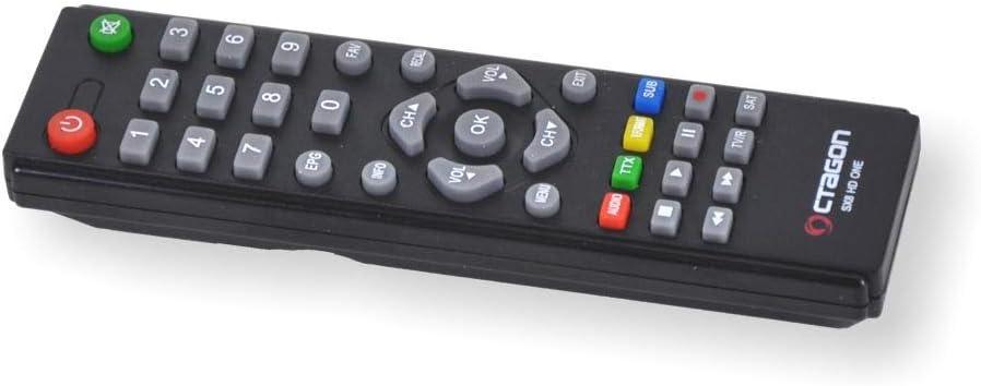 HDTV, DVB-S2, HDMI, 2X USB 2.0, 1080p, IPTV, IR Extender - nero Octagon SX8 Mini CA HD Ricevitore satellitare digitale Full HD Multistream Preprogrammato per Astra /& T/ürksat