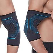 Seitaku Elbow Braces,2pcs Unisex Elbow Compression Sleeve for Tennis Elbow,Golf Elbow, Elbow Joint,Workouts, W