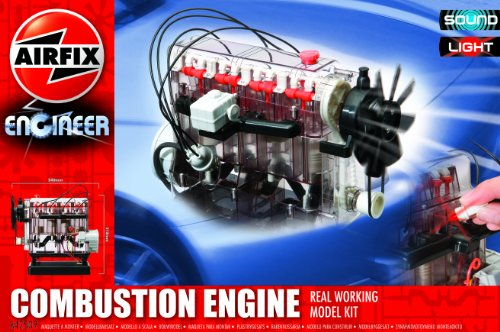 Combustion Engine Real Working Model Kit