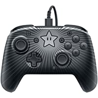 PDP Nintendo Switch Faceoff Super Mario Star Wired Pro Controller