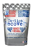 Cheap Tactical Recovery (New Formula – Protein 100% USA │ #1 Premium Whey Protein Isolate from Idaho Farms│ 5 Grams Added Plant Based BCAAs (2:1:1) │Organic Cocoa,100% Natural, Soy Free│Grass Fed Cows