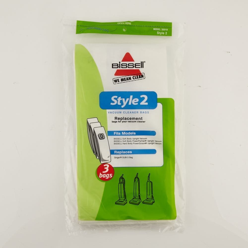 Bissell Style 2 Vacuum Bags