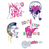 Glee Feel the Music Techno Tat / Sticker GLEEK GEAR