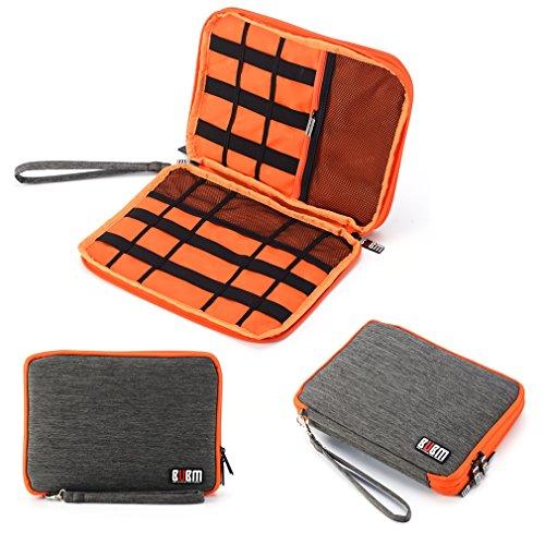 LESHP Portable Electronics Accessories Organizer