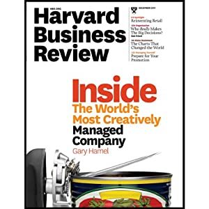 Harvard Business Review, December 2011 Periodical