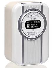 VQ Christie HD & FM Radio with Bluetooth/NFC Speaker - Cream