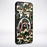 A Bathing Ape Army Shark for Iphone and Samsung Galaxy Case (iPhone 6 plus/6s plus black)