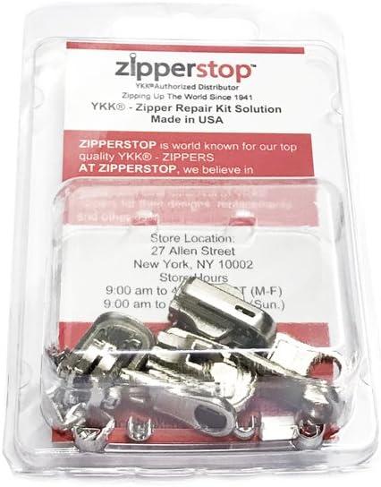 Zipperstop YKK Zipper Repair Kit Solution Clothing or Outdoor Pulls