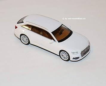 Herpa 420303 Audi A6 Avant Weiß Farbig Spielzeug