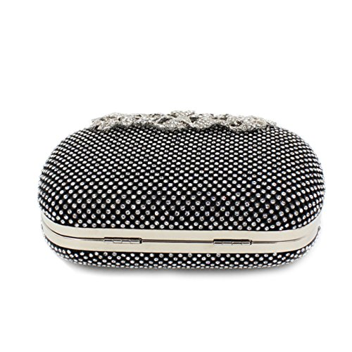 Evening Clutch Rhinestones Bag Model Clutch Evening Flap Purse Fit �� 1 amp;Wit Handbag Clasp 8Sx6qEFw