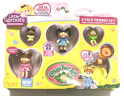 Assorted Styles Cabbage Patch Kids Little Sprouts Friends 4 Pack