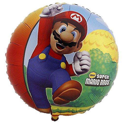 Super Mario Brothers Foil/Mylar Balloon (1 (Luigi Halloween Costume Ideas)