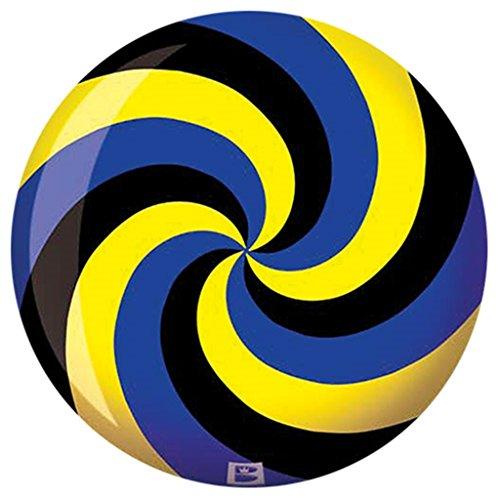 Brunswick-Spiral-YellowBlackBlue-PRE-DRILLED-Viz-A-Ball-Bowling-Ball