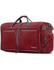 Gonex - Bolsa de Equipaje/Viaje de Duffel Plegable Impermeable y Resistente 100L Travel Bag para Viaje/Deporte Rojo