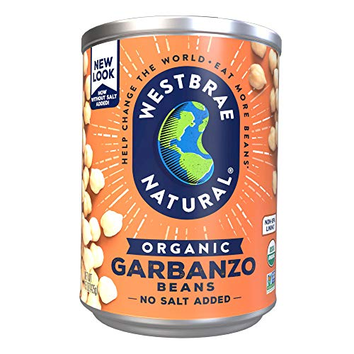 Westbrae Natural Organic Garbanzo Beans, 15 Ounce (Pack of 12) (Best Tinned Mushy Peas)