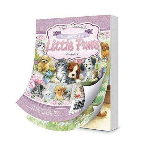 144 pages approx 6x4-inches LBK215 Hunkydory Little Book of Return Of The Little Paws