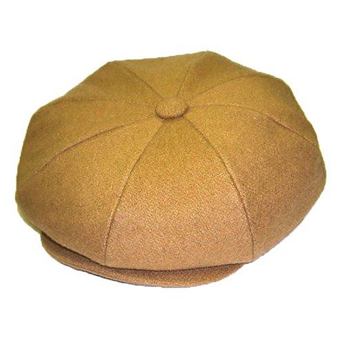 Dobbs Big Apple (Wool) - 8/4 Cap (Camel)