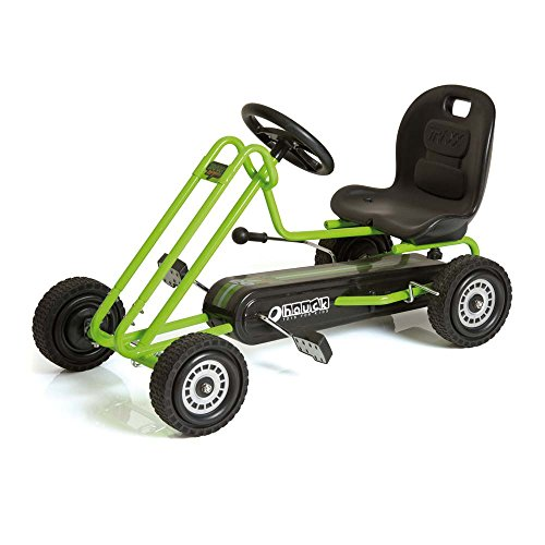 Hauck Lightning Pedal Go-Kart - Race Green (Go Carts For Kids 10 And Up compare prices)