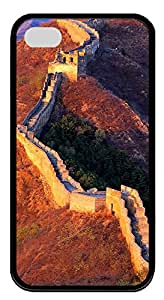 iPhone 4 4s Cases & Covers - Great Wall Of China 02 Custom TPU Soft Case Cover Protector for iPhone 4 4s - Black