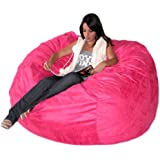Amazon Com Cozy Sack 4 Feet Bean Bag Chair Large Hot