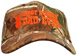 Best Buckin' Dad Hat Deer Hunting Embroidered Cap Gift Dad Grandpa Realtree