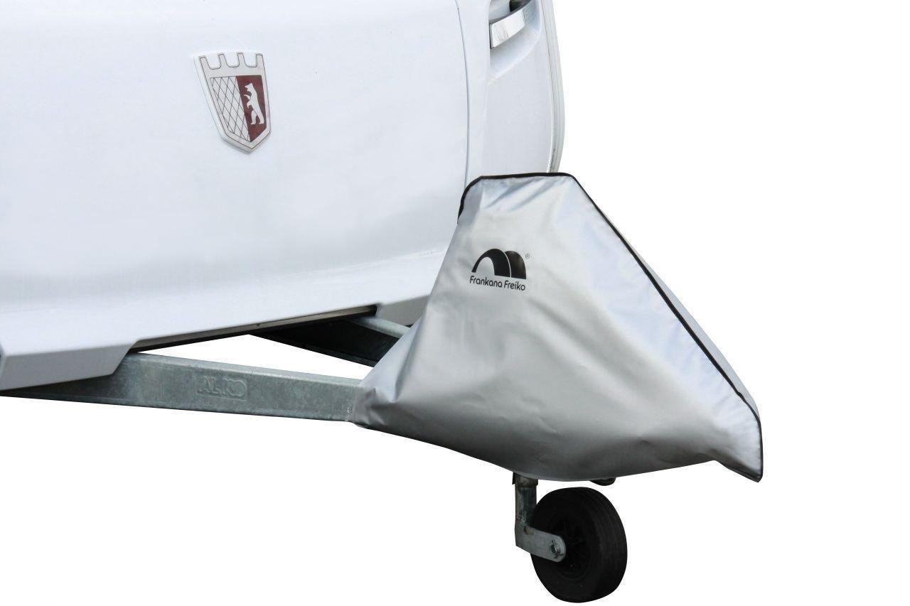 Frankana Hindermann Universal para enganche de remolque caravana remolque a-frame –  Plata gris