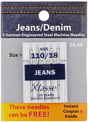 Superior Threads 1329014 5 Count Topstitch Machine Needle 90//14